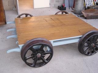 Chariot de voie