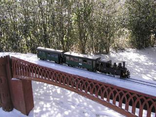 Corpet Louvet sous la neige