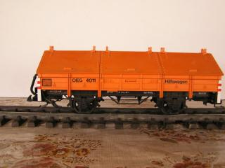 Plat à essieux orange 4011